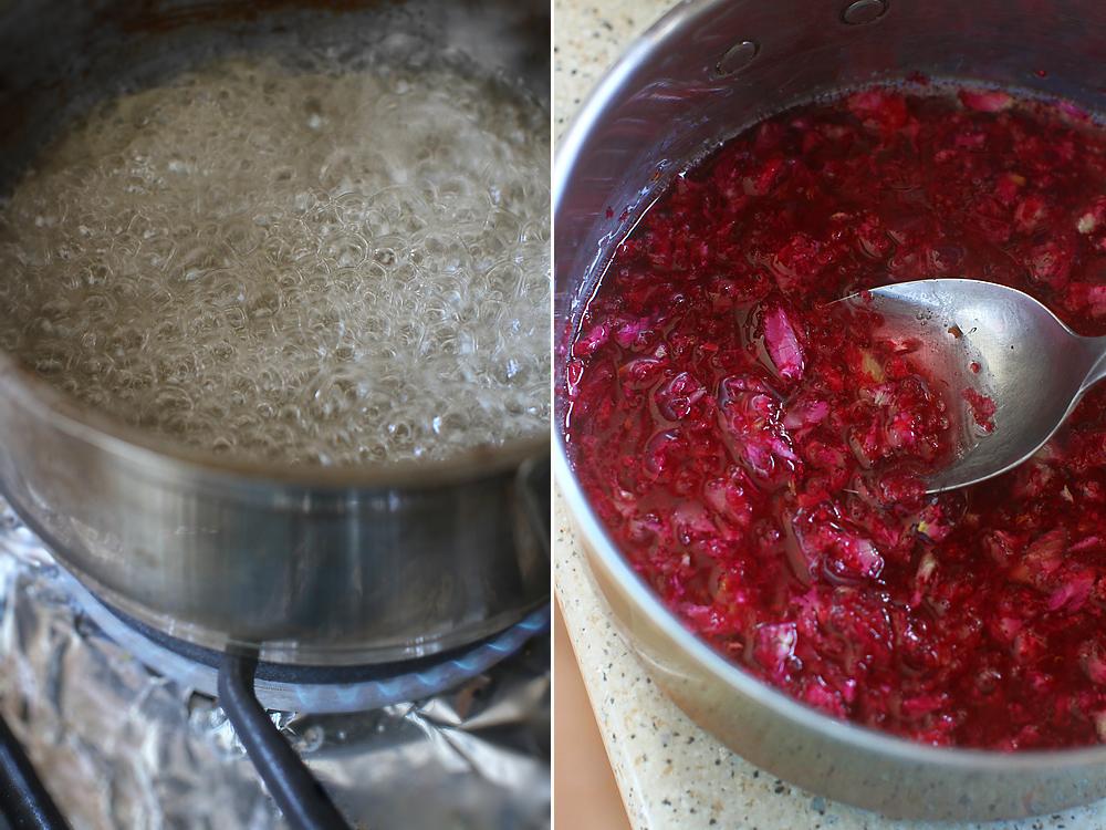 preparare dulceata de trandafiri 2
