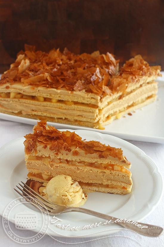 prajitura cu mere si caramel sectiune-1