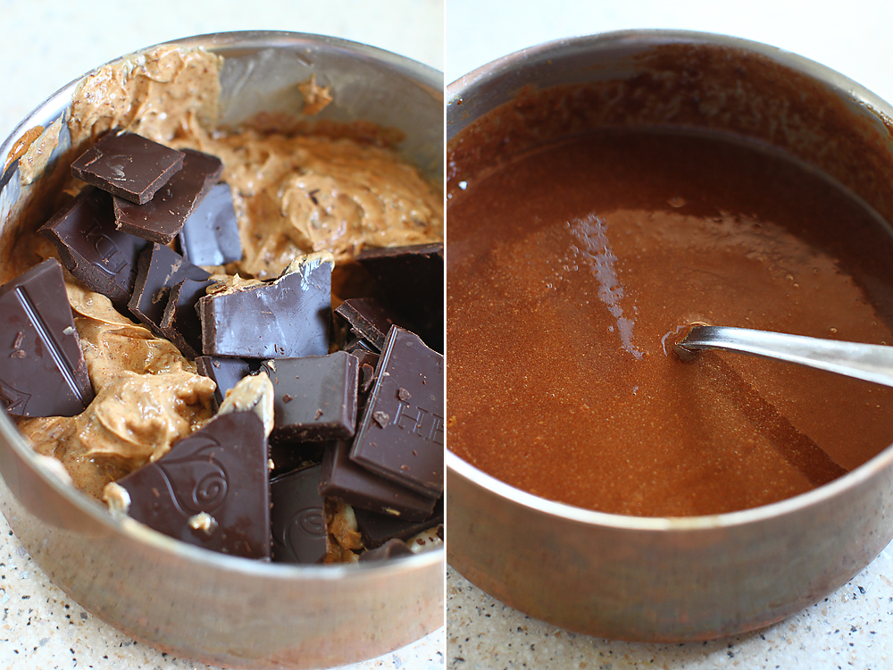 preparare prajitura cu ciocolata si cirese 2