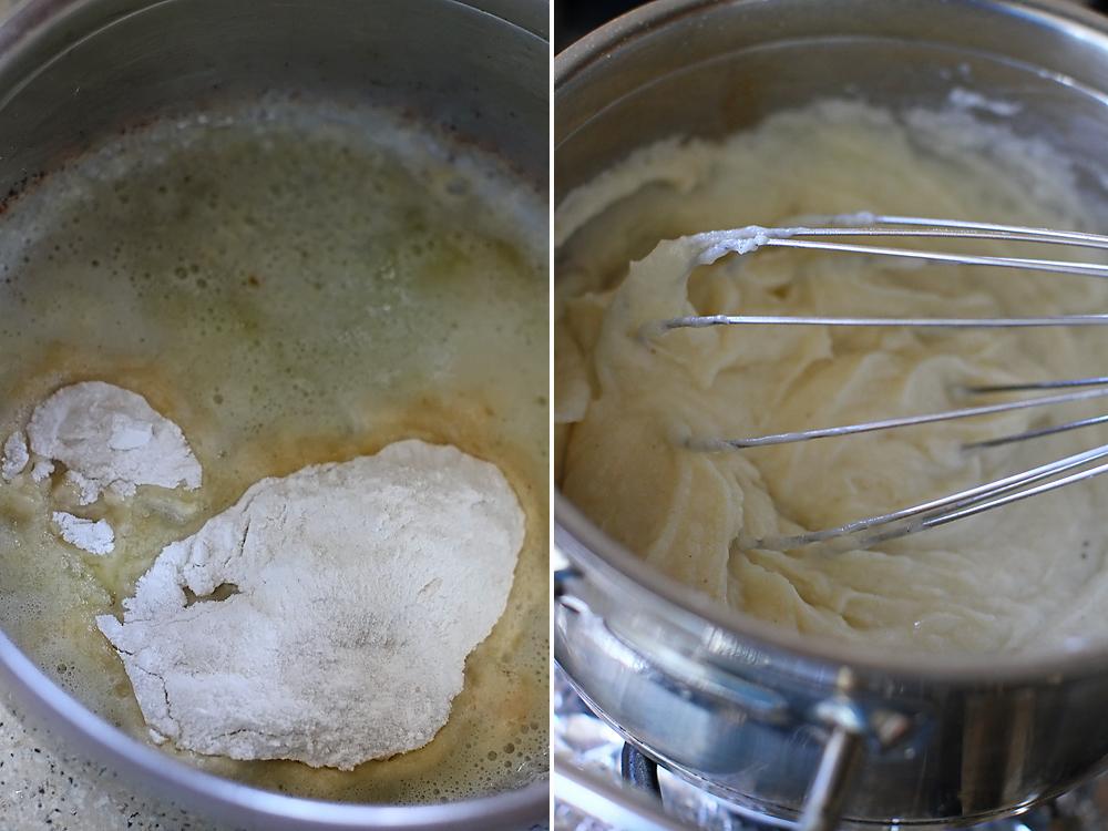 preparare souffle cu branza 1