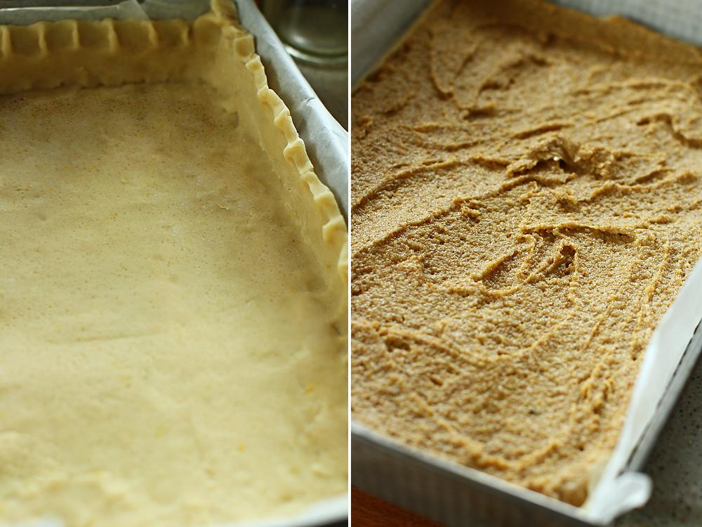 preparare tarta cu caise si migdale 3