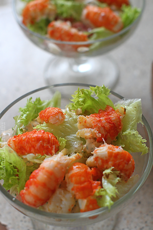 asamblare salata de raci 1
