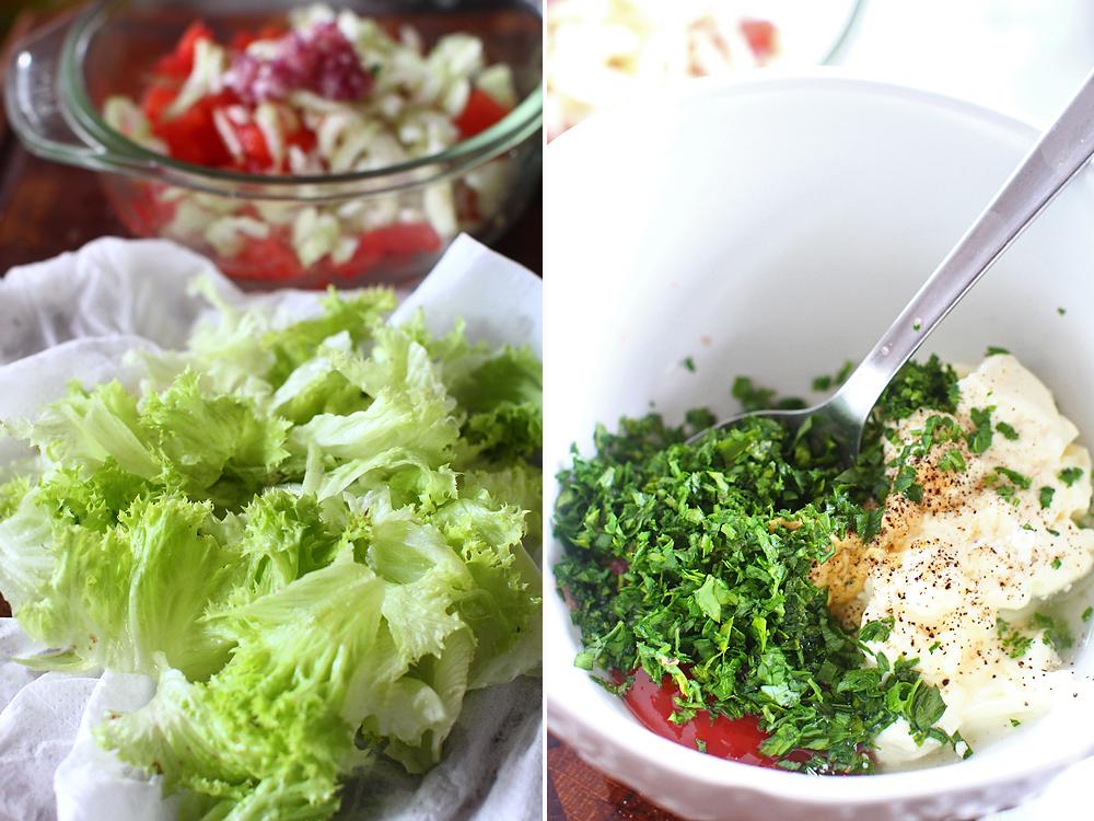 preparare salata de raci 2