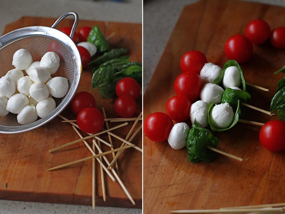 preparare aperitiv rece caprese kebab retete aperitive festive