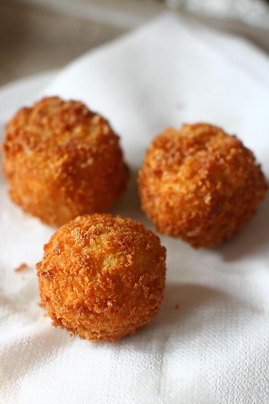 arancini cu gorgonzola