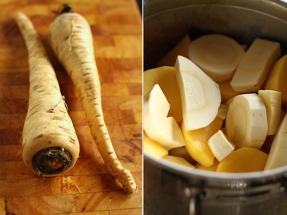 preparare piure de pastarnac