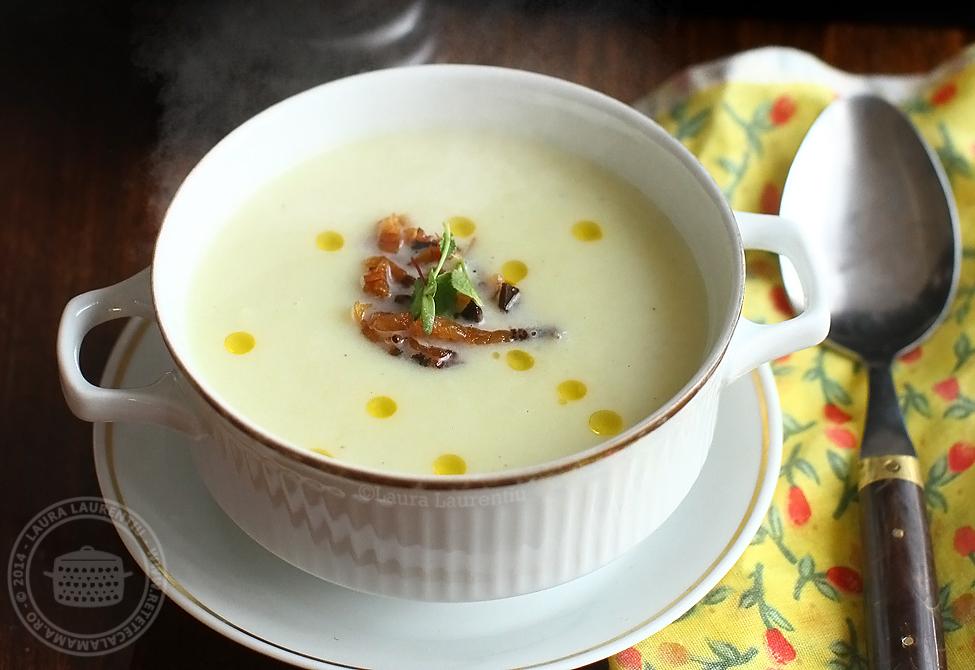 reteta supa crema de gulii