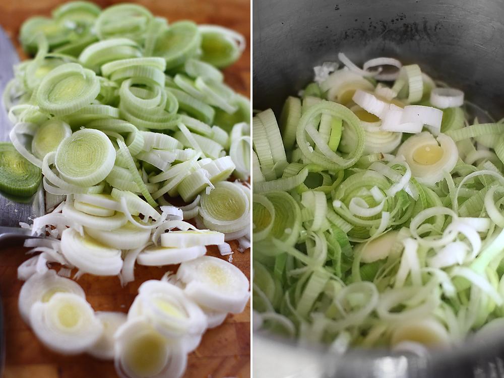 supa crema de gulii - preparare 2