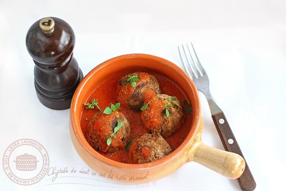 chiftele de naut cu sos de rosii aromat-2