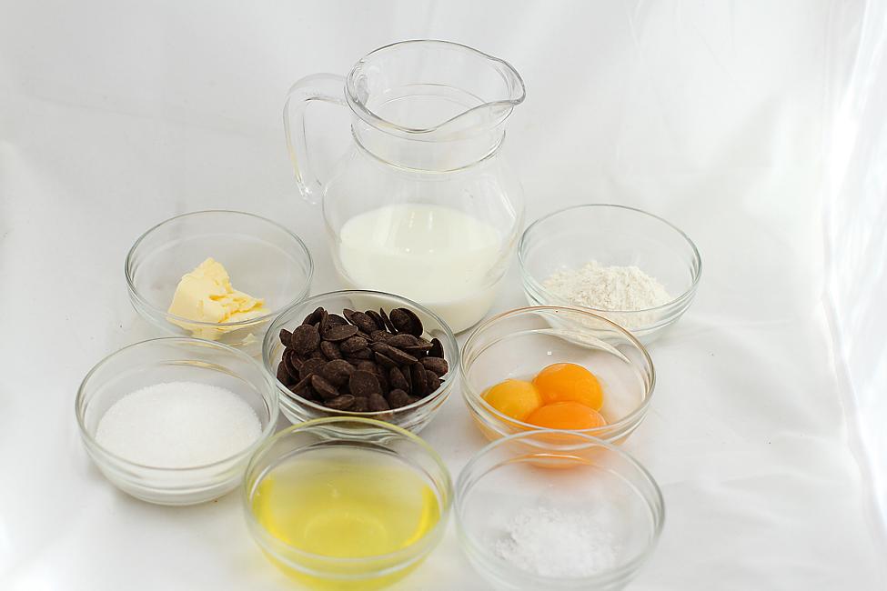 ingrediente pentru prepararea sufleului
