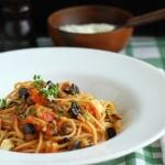 Spaghete a la norma