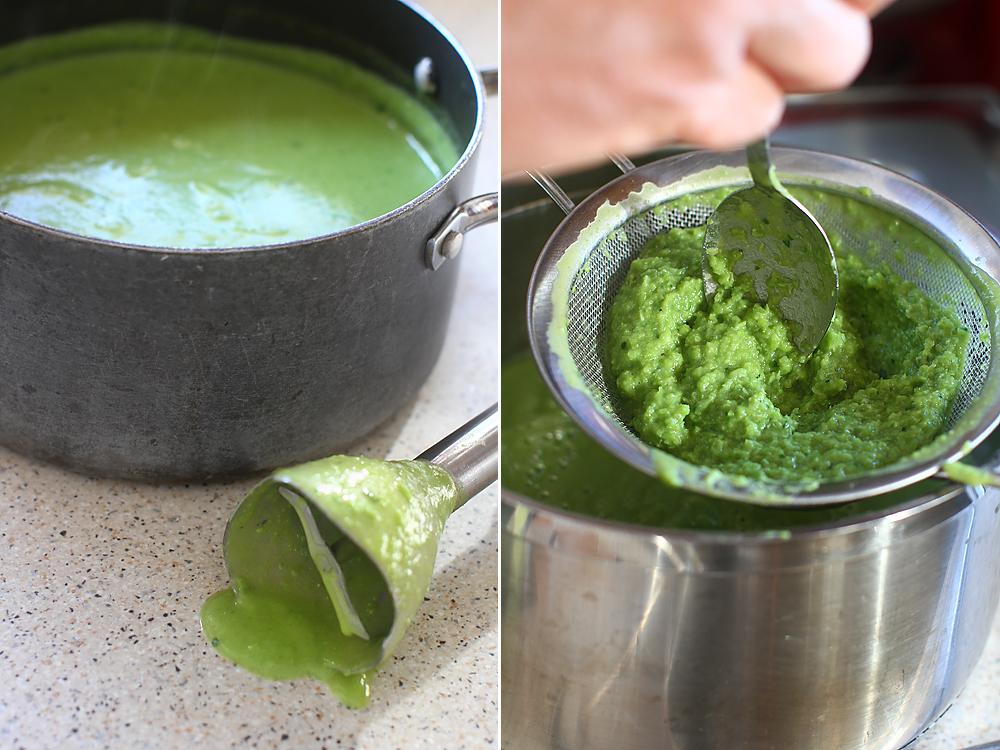 supa crema de mazare preparare 2