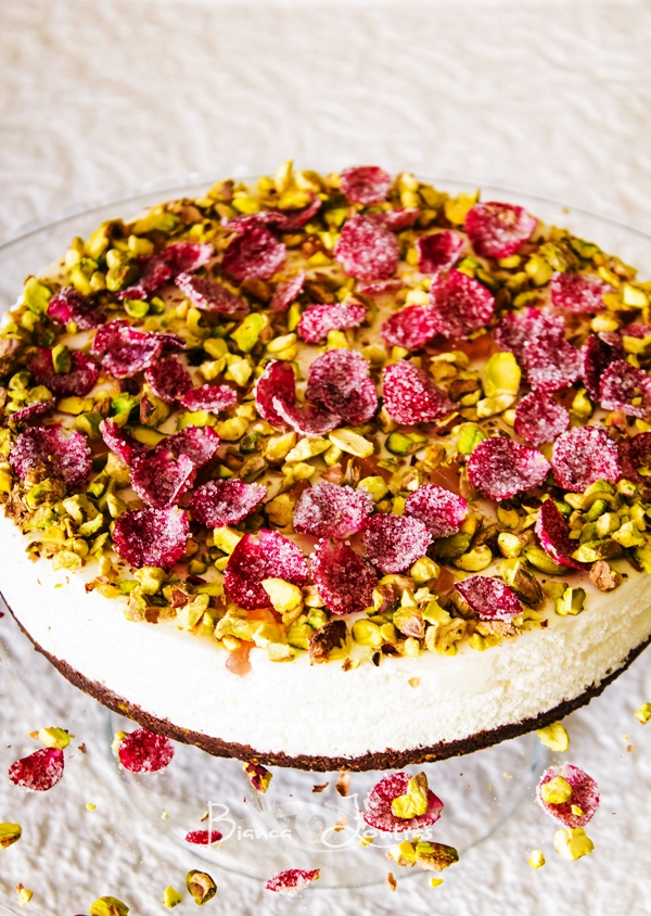 Oaspeti in bucatarie: Bianca Lontras - Turkish Delight Cheesecake