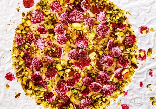 Cheesecake fără coacere cu Turkish Delight