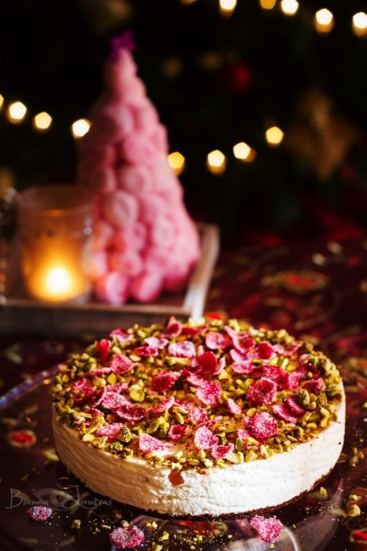 Turkish delight cheesecake 3