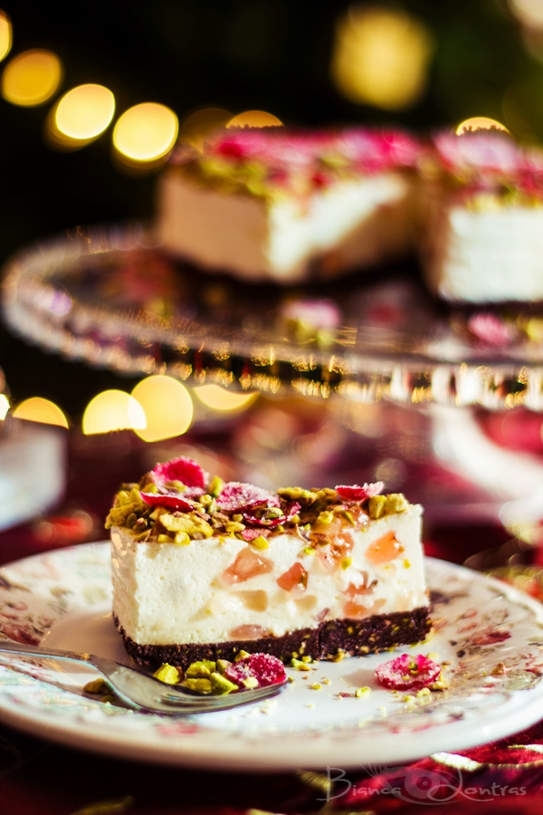 Turkish delight cheesecake 6