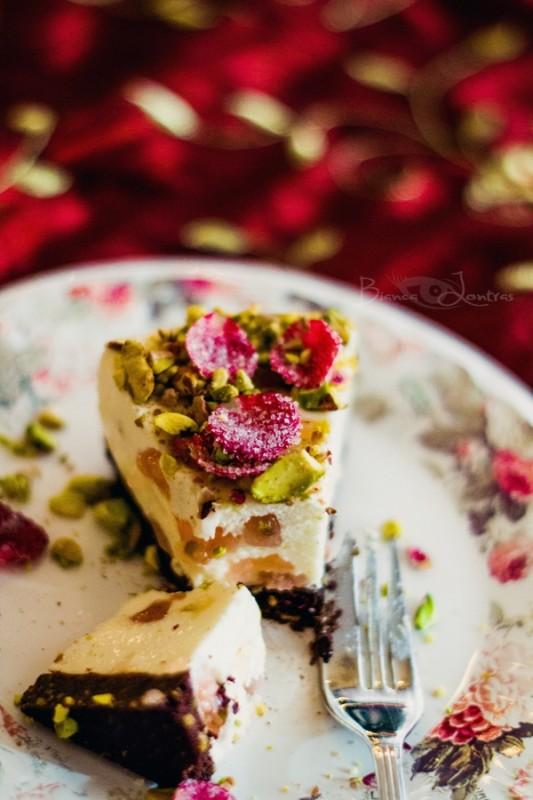 Turkish delight cheesecake 9