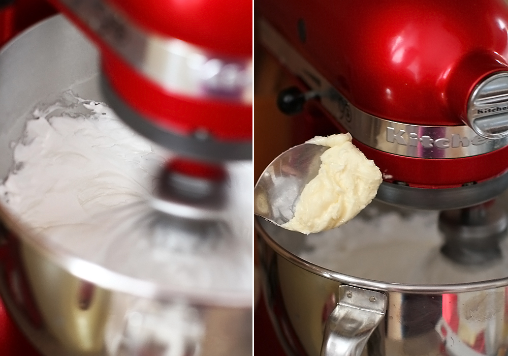 preparare italian meringue butter cream