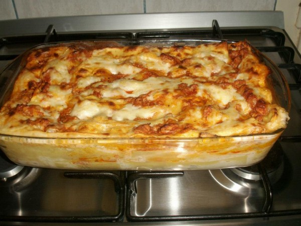 Lasagna cu foi de casa by radu camelia