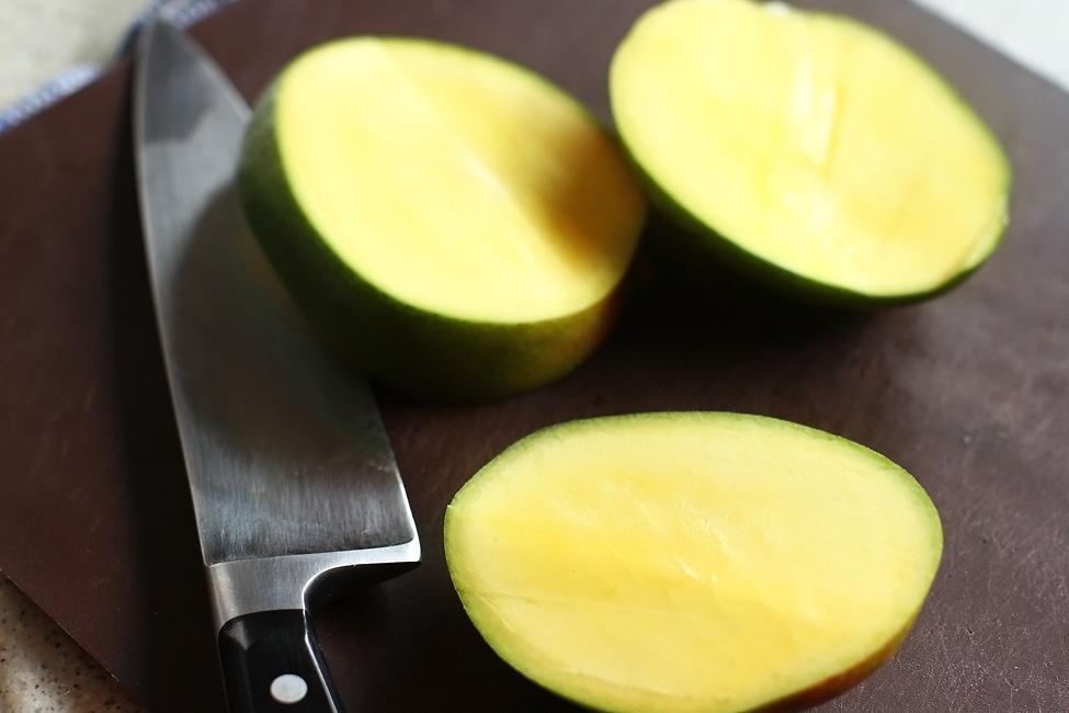 Preparare Budinca de tapioca cu lapte de cocos, mango si limeta 2
