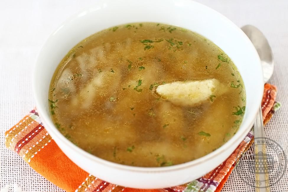supa de pui cu galuste-2