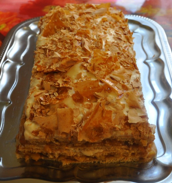Prajitura cu mere si crema de caramel by cris2015