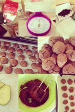 Fursecuri de post cu ciocolata by Bolea Elena