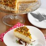 Cheesecake cu mango, fara coacere