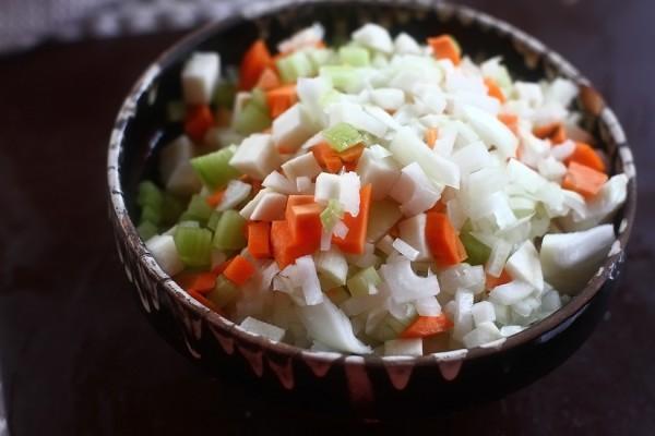 legume tocate pentru ciorba de miel cu macris