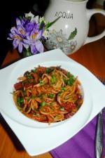 Spaghetti alla puttanesca by iulia nicoleta