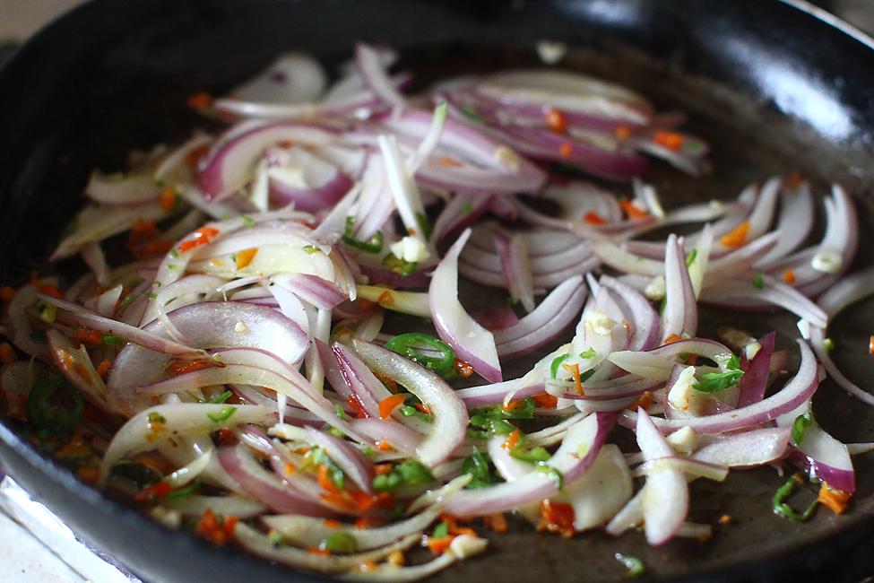 Preparare Strudel vegan cu ciuperci 3