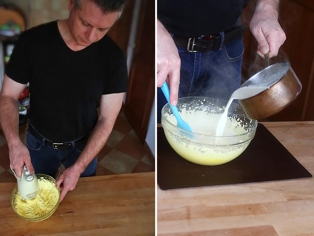 preparare lichior de oua - eierlikör 2