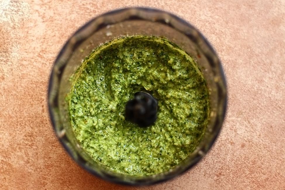 Preparare Pulpa de miel la cuptor, cu pesto de menta 4