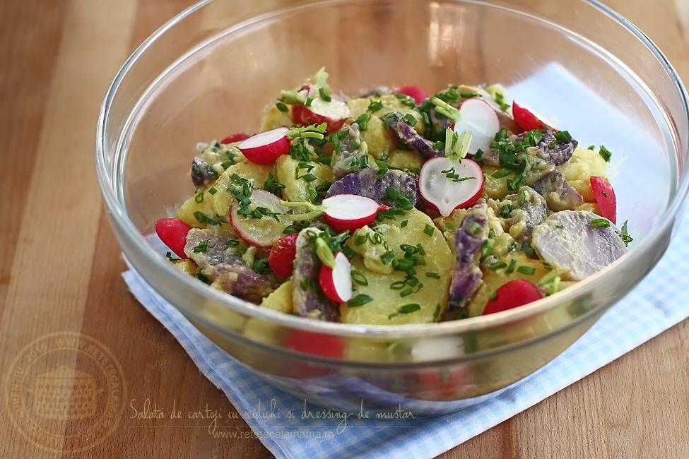 Preparare Salată orientală, rețetă simplă de post 1