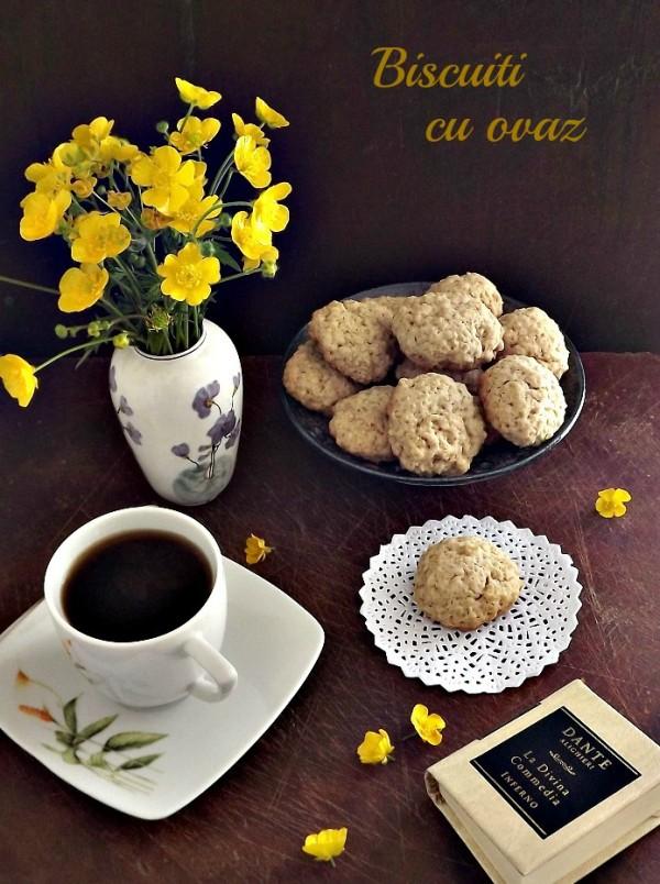 Biscuiti cu ovaz de Claudia Maria