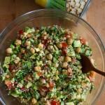 Salata de naut cu avocado
