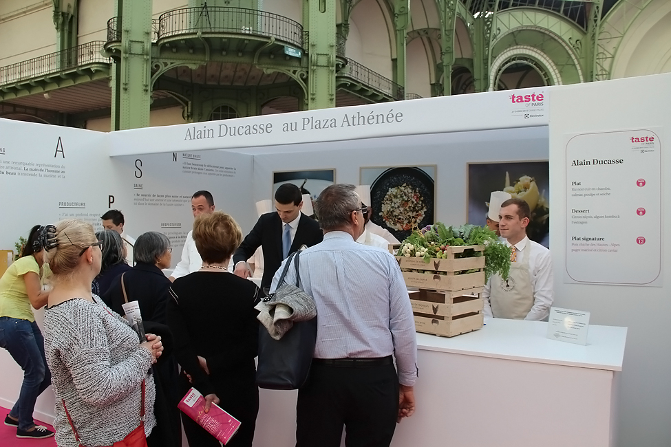 stand alain ducasse