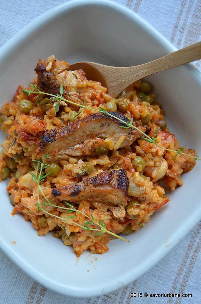 Arroz con pollo, savoriurbane.com