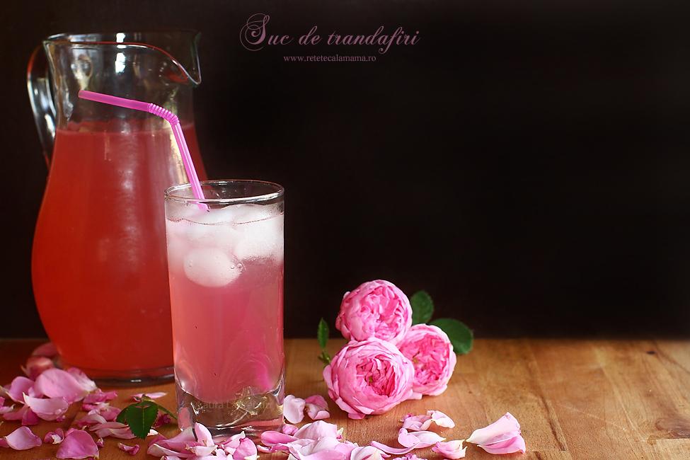 Suc de trandafiri