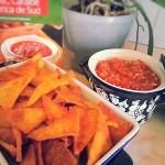 Tortillas cu sos salsa