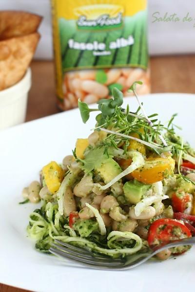salata de zucchini cu fasole alba si avocado retetecalamamaro 1