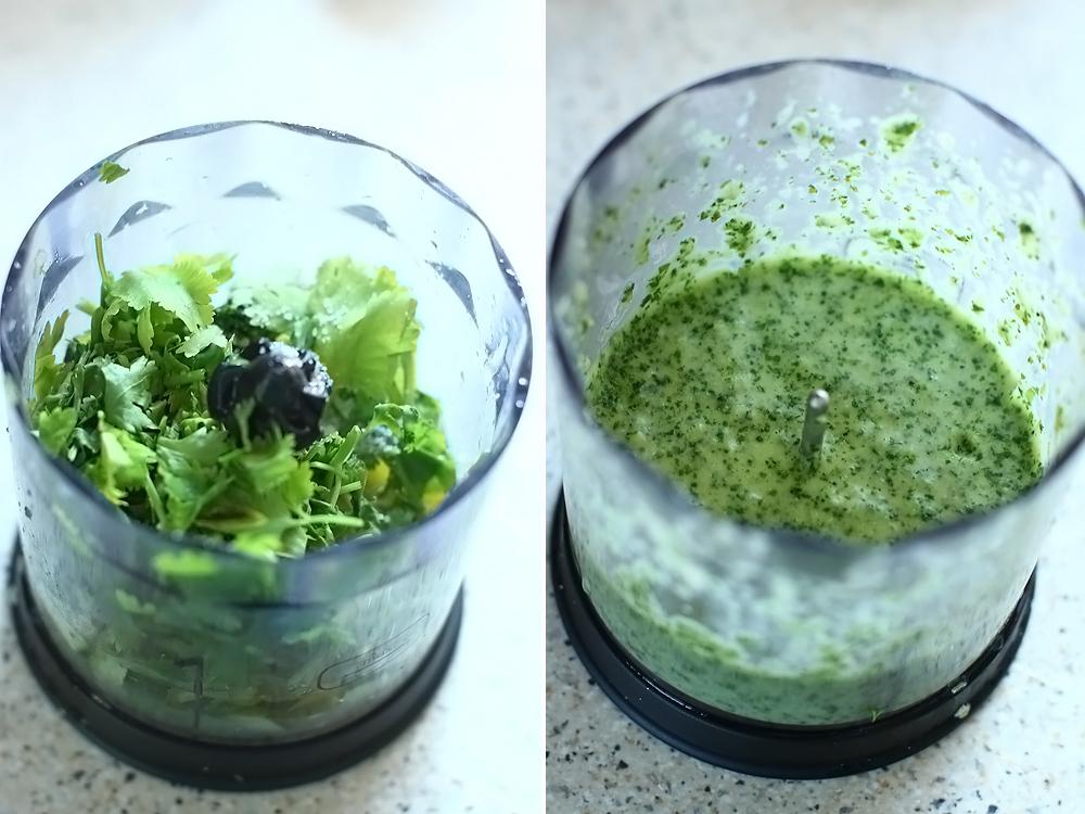 salata de zucchini cu fasole alba si avocado retetecalamamaro preparare dressing cu cilantro