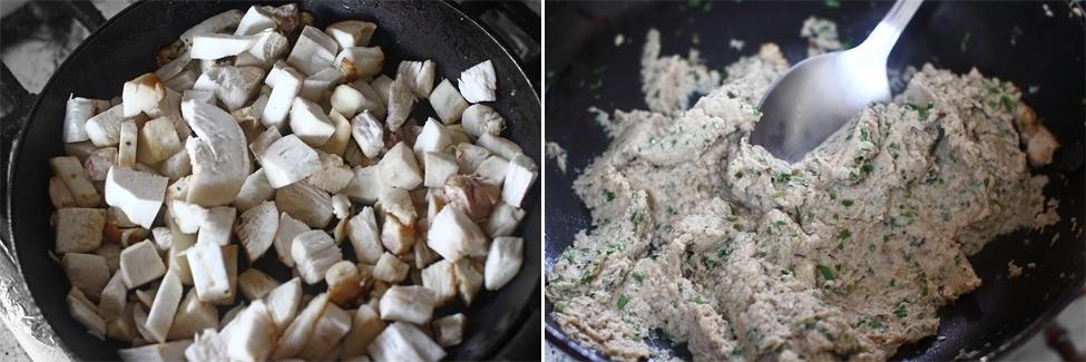 preparare duxelle de ciuperci