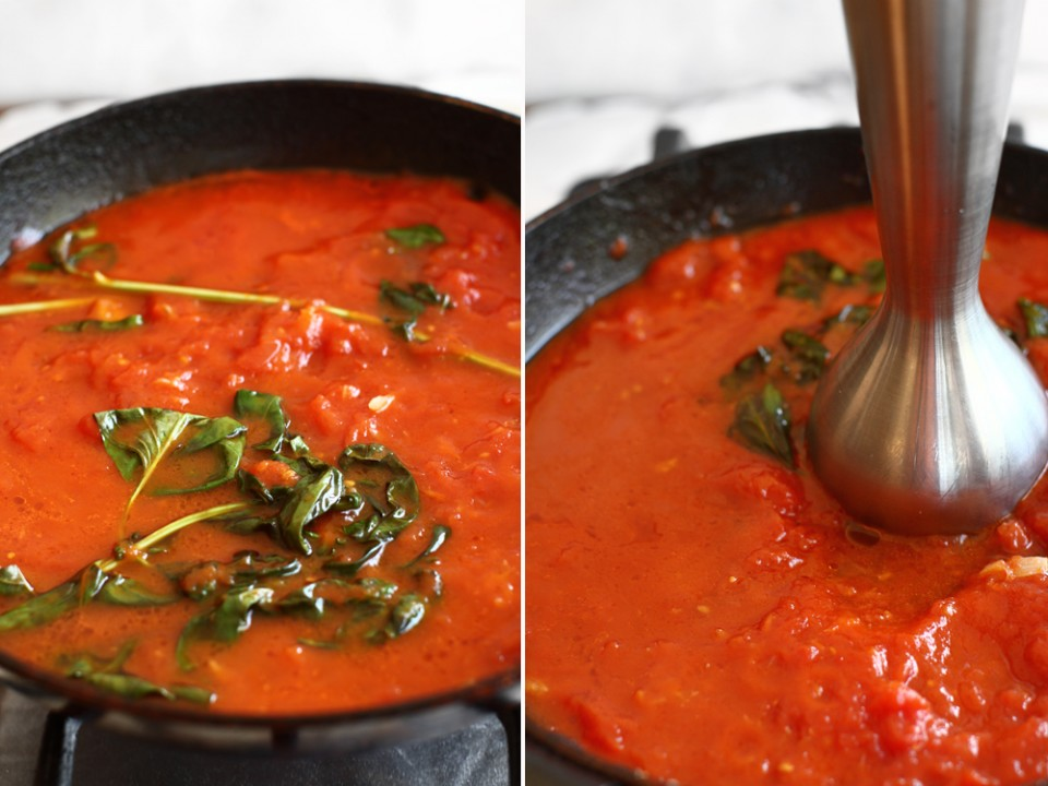 preparare sos de rosii pentru paste 2