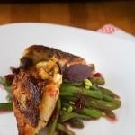 coquelet cu fasole verde si zmeura, reteta Chef Daniele Usai, Taste of Roma2