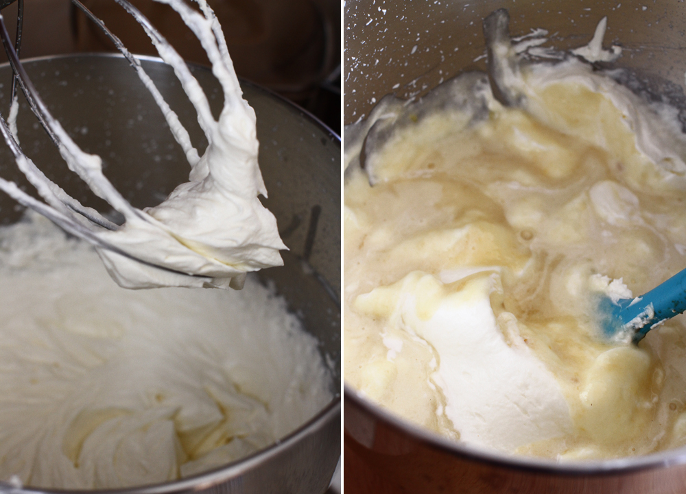 crema de mere si crema de branza pas 6