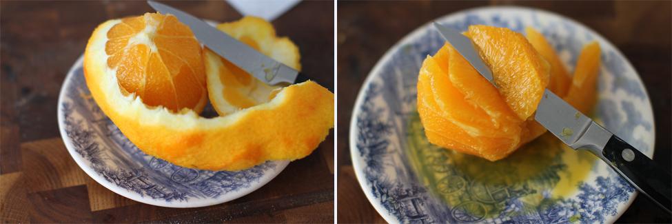 segmenti de portocala