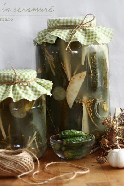 castraveti murati in saramura-1