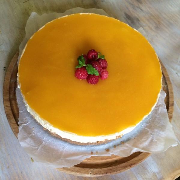 Cheesecake cu mango, fara coacere de Dana Abrudan