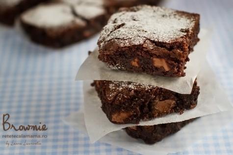 Brownie, rețetă autentică